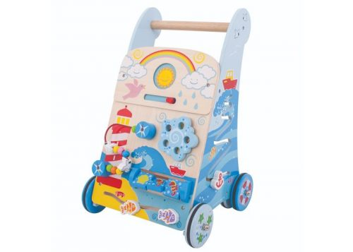Bigjigs Baby Wooden Marine Activity Walker