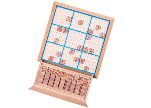 Bigjigs Toys Wooden Sudoku Set
