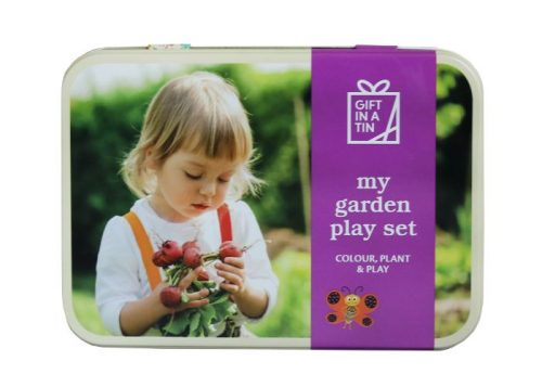 Apples to Pears Gift in a Tin My Garden Play Set