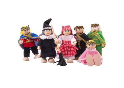 Bigjigs Toys Heritage Fairy Tale Doll Set