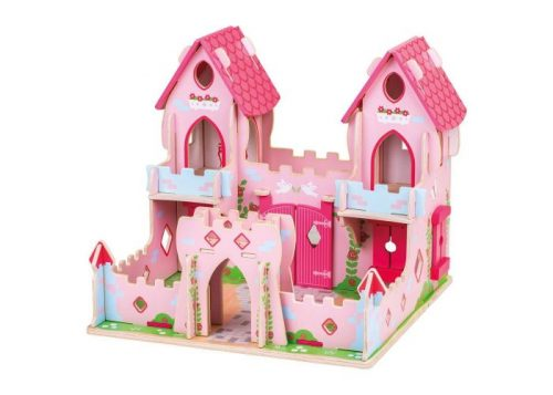 Bigjigs Toys Wooden Fairy Tale Palace