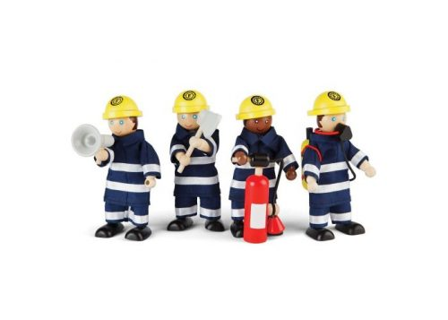 Tidlo Fire Fighter Dolls Set