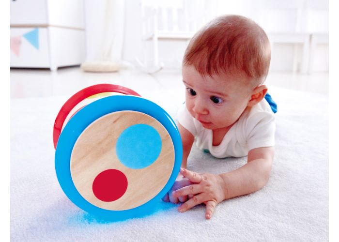Hape Wooden Baby Drum