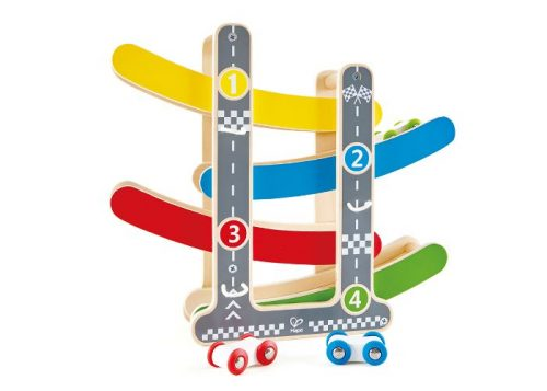 Hape Fast Flip Racetrack Ramp Racing Toy