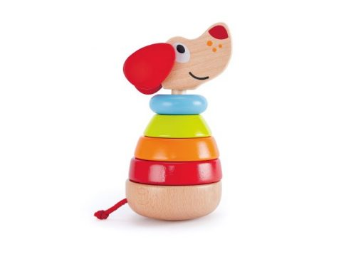 Hape Pepe Sound Stacker Barking Puppy