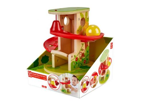 Hape Jungle Press and Slide Ball Run