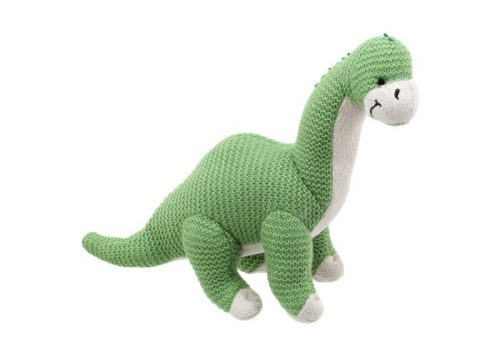 Wilberry Knitted Brontosaurus Green