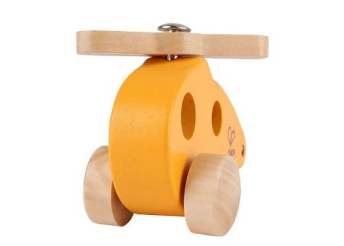 Hape Wooden Orange Little Copter