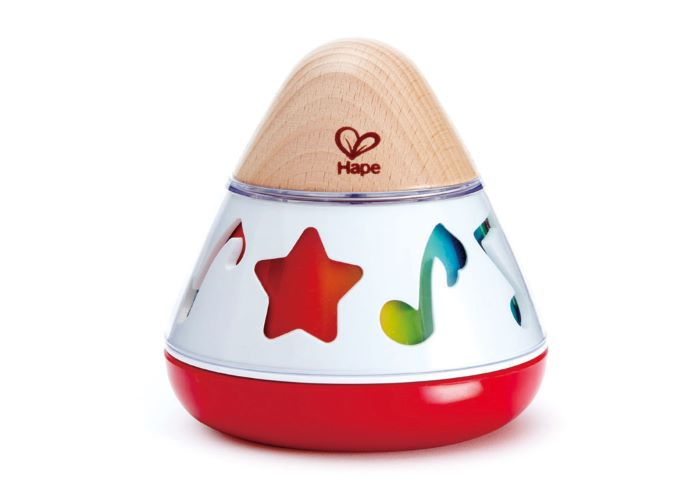 Hape Wooden Rotating Music Box