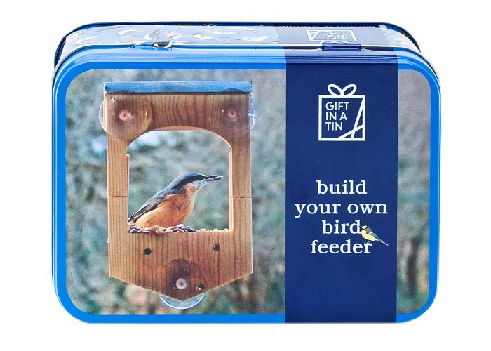 Apples to Pears Gift in a Tin Build a Bird Feeder