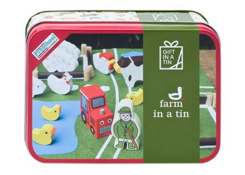 Apples to Pears Gift in a Tin Farm in a Tin