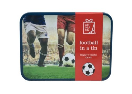 Apples to Pears Gift in a Tin Football in a Tin