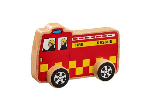 Lanka Kade Fair Trade Wooden Fire Engine