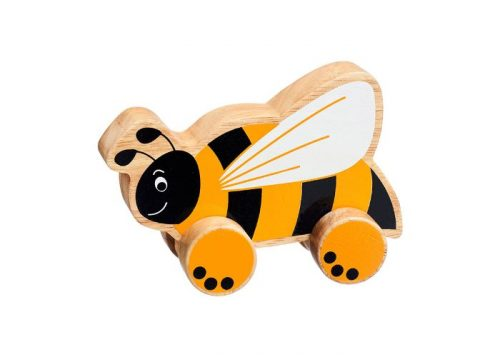 Lanka Kade Fair Trade Wooden Bee Push Along