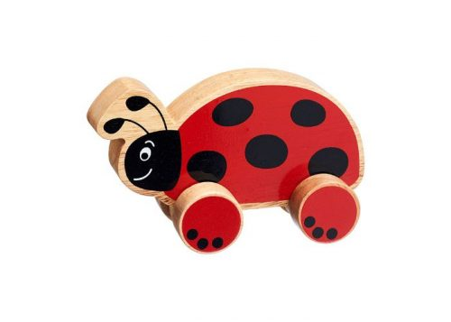 Lanka Kade Fair Trade Wooden Ladybird Push Along