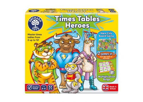 Orchard Toys Times Tables Heroes Fun Learning Game
