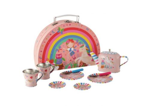 Floss & Rock Rainbow Fairy Tin Tea Set