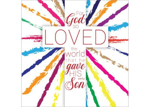 For God So Loved Easter Cards 5 Pack