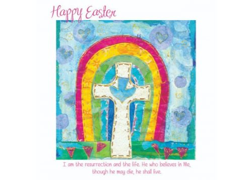 Easter Rainbow Easter Cards 5 Pack