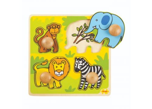 Bigjigs Toys My First Peg Puzzle Safari