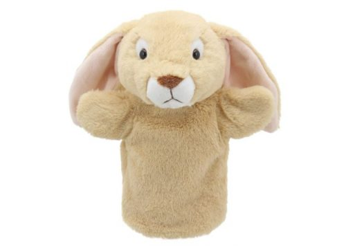 Lop Eared Rabbit Puppet Buddies Hand Puppet