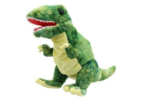 Baby Dinos Green T-Rex Hand Puppet
