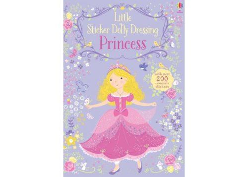 Usborne Little Sticker Dolly Dressing Princess