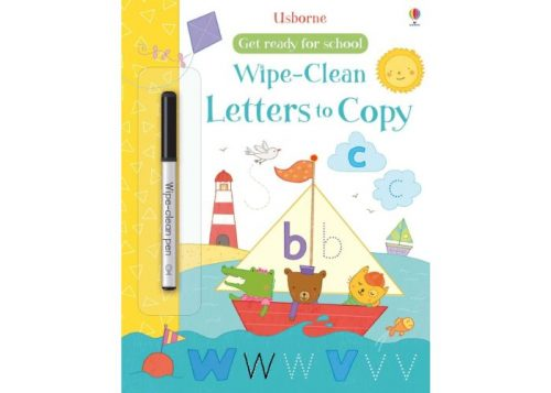 Usborne Wipe-Clean Letters to Copy Book