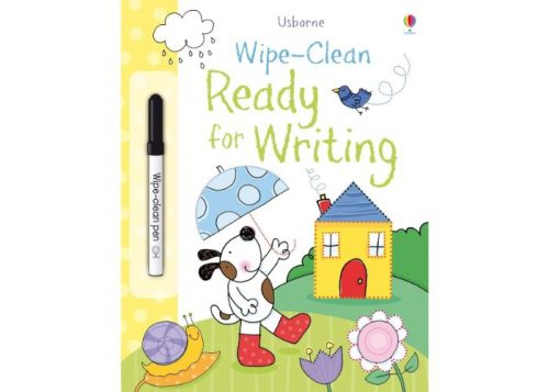 Usborne Wipe-Clean Ready for Writing Book