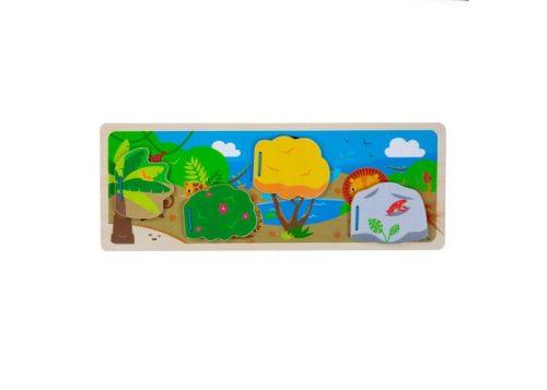 Bigjigs Toys In The Jungle Sensory Board