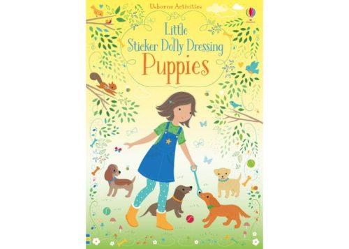 Usborne Little Sticker Dolly Dressing Puppies