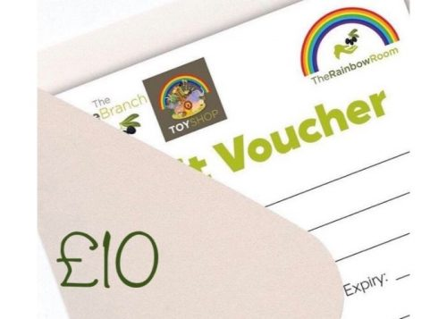 £10 Olive Branch & Rainbow Room Gift Voucher