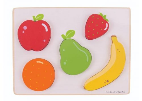 Bigjigs Toys Fruit Lift and See Puzzle