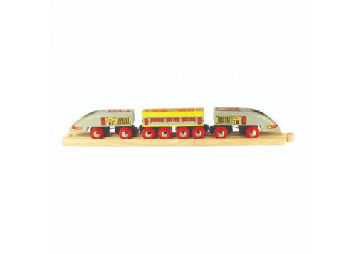 Bigjigs Rail Wooden Bullet Train