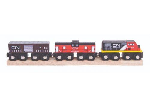Bigjigs Rail Wooden CN Train