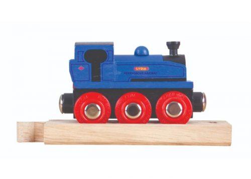 Bigjigs Rail Wooden Lydia Engine