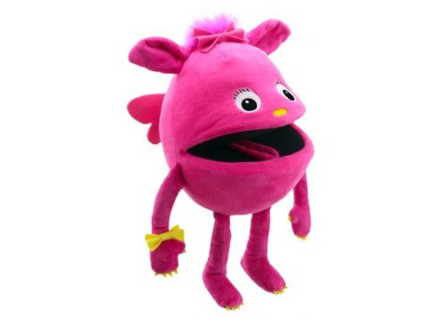 Pink Baby Monster Hand Puppet