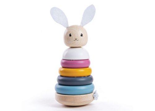 Bigjigs Toys Rabbit Stacking Rings